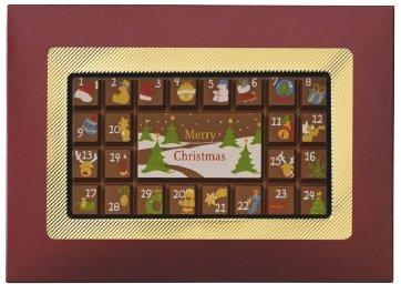 Weibler - Adventskalender Zartbitterschokolade - 70g -