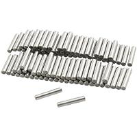 sourcingmap® 100 Stück 2.9mm x 15.8mm Edelstahl Zylinderstift Bolzen Passstift Dowel Pins