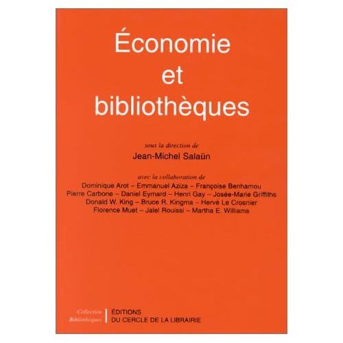 Economie et bibliothèques