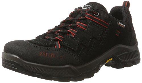 Alpina 680377, Scarpe da Trekking, Uomo Nero (schwarz)