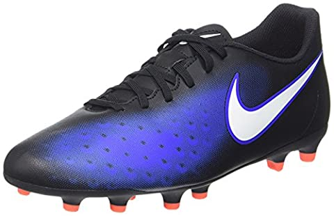 Nike Men's Magista Ola Ii Fg Football Boots, Blue (Black/White/Paramount Blue/Hyper Orange), 9 UK