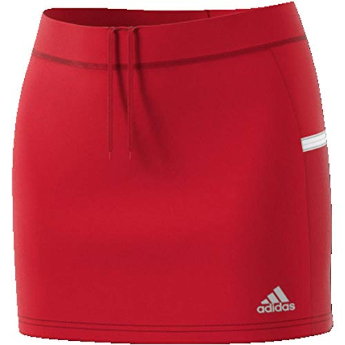 adidas Damen T19 Skort W Power red/White, L -