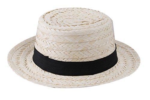 ILOVEFANCYDRESS STOHHUT Strand Sommer Sonne Karibik Urlaub Gartenarbeit=VERSCHIEDENEN STÜCKZAHLEN=Kopfbedeckung KOSTÜM ZUBEHÖR Fasching Karneval = 10 - Sonne Hut Kostüm
