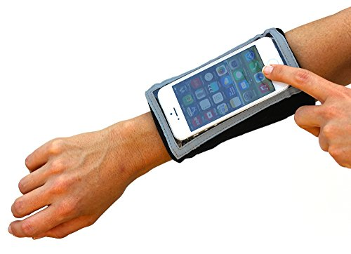 Brazalete Deportivo: MyBand Elite Mac para el iPhone SE, 5S, 5C, 5,4S, 4. iPod Touch o cualquier dispositivo portátil del mismo tamaño o más pequeño.