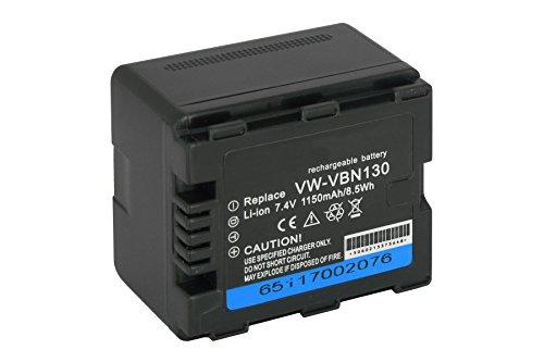 BATERIA VBN130 PARA PANASONIC HDC SD800  HDC SD900  HDC SD909  HDC TM900  HDC HS900