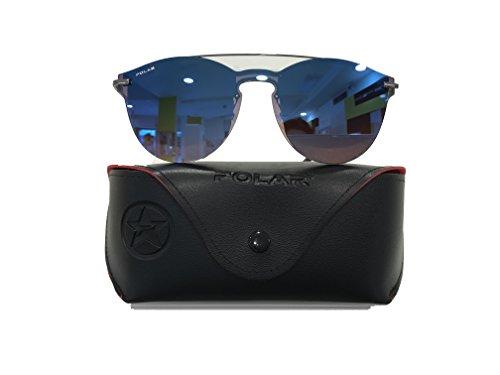 POLAR SUNGLASSES Damen Sonnenbrille Blau Einheitsgröße