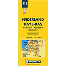 Carte routière : Rotterdam - Apeldoorn - Maastricht, N° 211