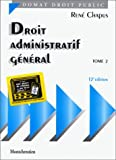 droit administratif g?n?ral tome 2 12e ?dition
