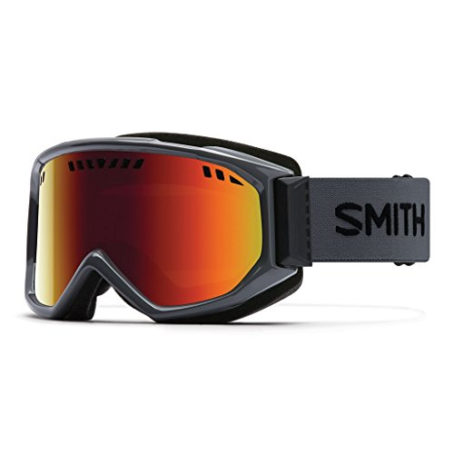 SMITH Erwachsene Skibrille Scope Pro, Charcoal, M, M00643ZX299C1 (Smith Erwachsenen Ski-helm)