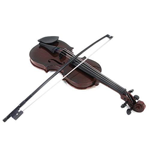 BSPAS Geige für Kinder, Kinder Geige Spielzeug, Violine Kinder, Kindergeige Geschenk für Junge Mädchen ab 3 Jahre