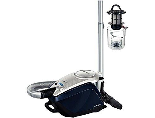 Bosch BGS5ALL1 Relaxx'x ProSilence  - Aspirador sin bolsa AAC silencioso, tecnología SensorBagless, 700 W, autolimpieza de filtro SelfClean, color azul marino