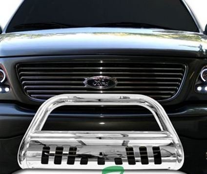 chrome-hammered-stainless-steel-bull-bar-brush-bumper-grille-guard-nissan-titan-armada-by-rl-racing