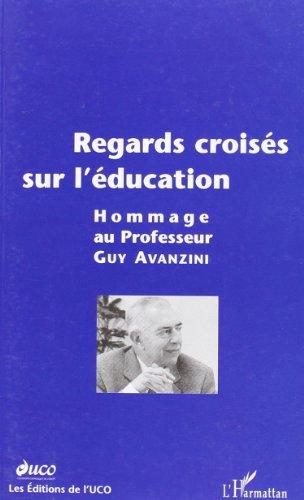 Regards croisés sur l'éducation