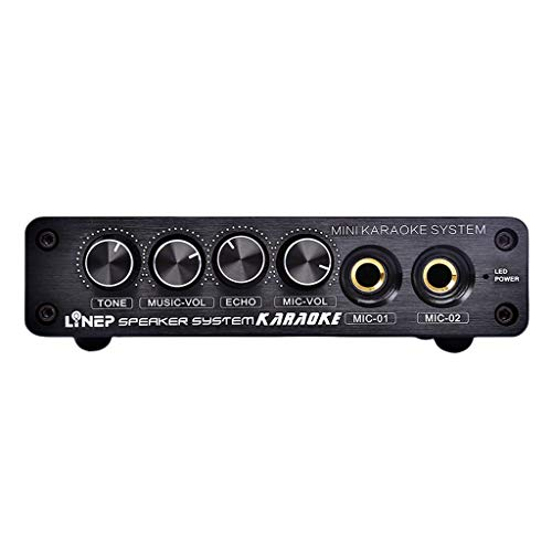 FLAMEER A933 Mini-Musik-Mixer Stereo-Audio-Sound-Konsole Für Home Karaoke-System (Karaoke-sound-system)