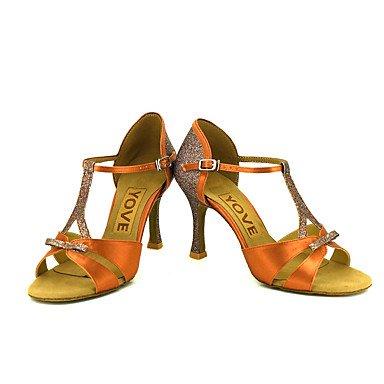 Ruhe @ Damen Beruf Dance Schuhe almond