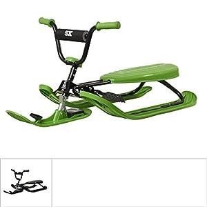 STIGA Schlitten Snowracer Rennrodel SX Color Pro Lenkschlitten