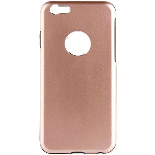 Caseit Hardshell Aluminium Hülle Case Cover mit TPU-Einlage Passgenau für iPhone 6/6s - Gold Gold