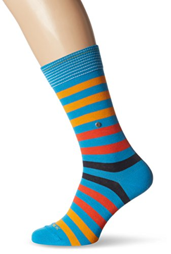 Burlington Herren Socken Blackpool Mehrfarbig (blue grotto 6677)