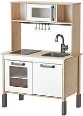 IKEA Miniküche DUKTIG mitwachsende Spielküche Aus Holz - ab drei Jahren - 72x40x109 cm