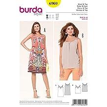 Burda B6969 - Cartamodello per vestito e tunica da donna adaeaa97f285