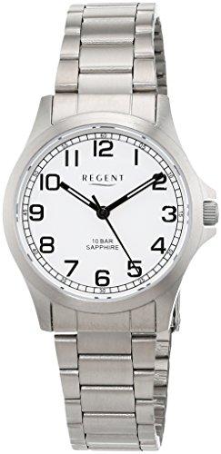 Regent Damen Analog Quarz Uhr mit Titan Armband 12290466