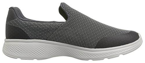 Skechers Go Walk 4, Baskets Basses Homme, Parent Gris (Char)