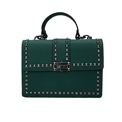 TianWlio 2020 Mode Handtaschen Weiblich Messenger Tasche Wild Schulter Tasche Leder Handtasche Damen Umhängetasche Hobo Tasche Synthetischem Leder Groß Handtasche für Frauen -