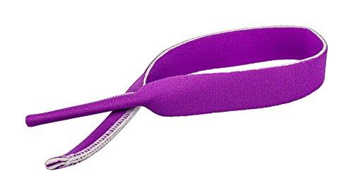 Elastisches Neopren Sportband / Brillenband / Sportbrillenband / Brilenkordel in verschiedenen Farben (Purpur)
