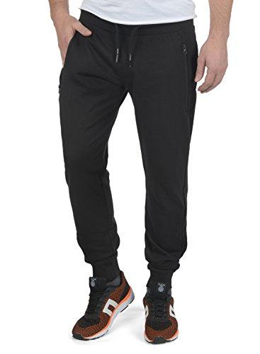 !Solid Taras Herren Sweatpants Jogginghose Sporthose Mit Fleece-Innenseite Und Kordel Regular Fit, Größe:M, Farbe:Black (9000)