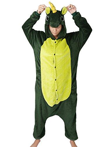 LATH.PIN Tier Karton Kostüm Karneval Pyjama Tierkostüme Jumpsuit -