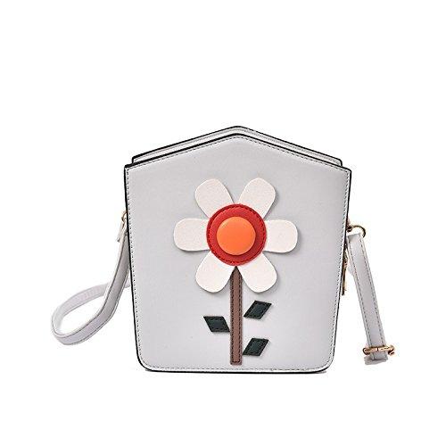 Mefly Der Neue Frühling Und Sommer Koreanischen Crossbody Tasche Schultertasche Handtasche Kette Tasche All-Match Persönlichkeit gray