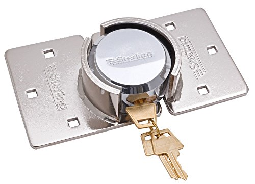 Sterling PHS104E rundes, bügelloses Vorhängeschloss, 73mm, mit Verriegelung (Lock Security Schiebetür)
