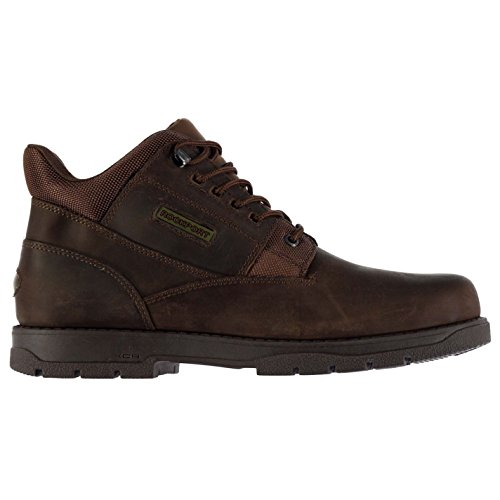 Rockport Hommes Plain Chaussures Bottes Bottines A Lacets Bout Rond Casual Brun Clair