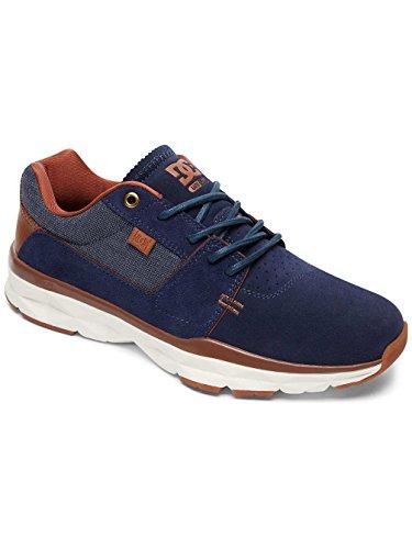 DC Shoes Player Se M Shoe NGY, Low-Top Sneaker Uomo Blu