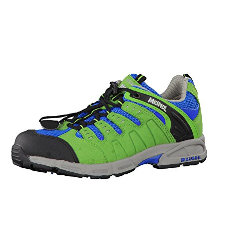 Meindl  2046-36 Snap Junior,  Scarpe da camminata ed escursionismo ragazzo Verde (Grün Kombi)