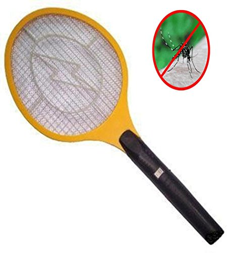 MEDIA WAVE store  Raqueta a Pilas Mata Moscas, Mosquitos, arañas e Insectos