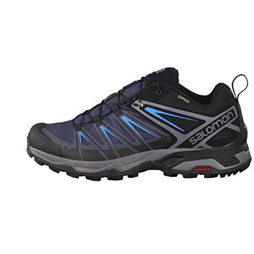 Salomon X Ultra 3 Gtx, Chaussures d'Escalade Homme Multicolore (Black/india Ink/hawaiian)