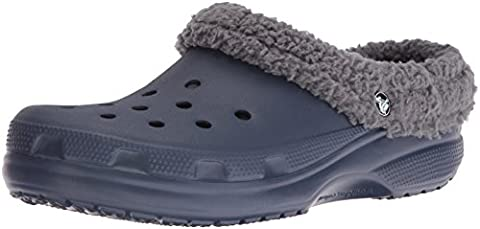 Crocs Unisex Adults' Clscmamthlndclg Clogs, Blue (Navy/Charcoal), 39-40