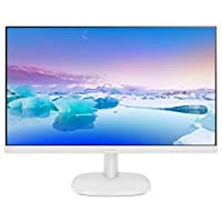 Philips 27 inch IPS LED Monitor white, Business Monitor, Home use Monitor with full HD Vivid, crisp images, Smartcontrast, Smartimage, Easyread, Built in Speaker, – 273V7QDAW