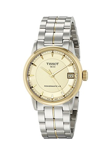Tissot Femme 33MM Bracelet Acier Inoxydable Automatique Montre T0862072226100
