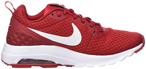 Nike Air Max Motion Low, Sneakers Basses Homme Rouge (Gym Red/white)