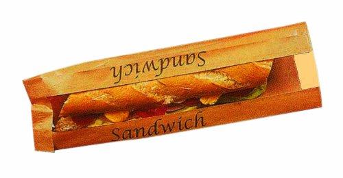 Mallard Ferriere - Sac Sandwich Kraft Brun P/1000