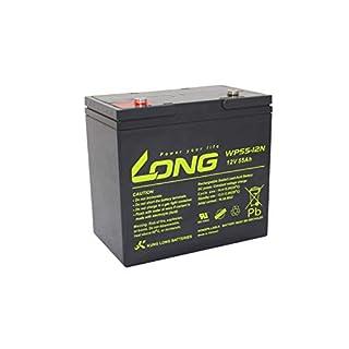 Akku kompatibel S60-12 12V 55Ah wie 60Ah AGM Blei Accu Batterie wiederaufladbar