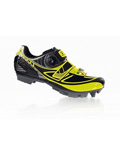 scarpe ciclismo mtb dmt taurus colore giallo fluo/antracite misura 45