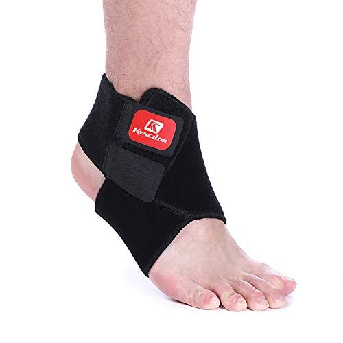 HOMELECT Verstellbare Knöchelunterstützung, vielseitige und atmungsaktive Kompression - wirksame Linderung bei chronischen Knöchelschmerzen, Entzündungen, Rehabilitation von Verletzungen (1 Stück),XL -