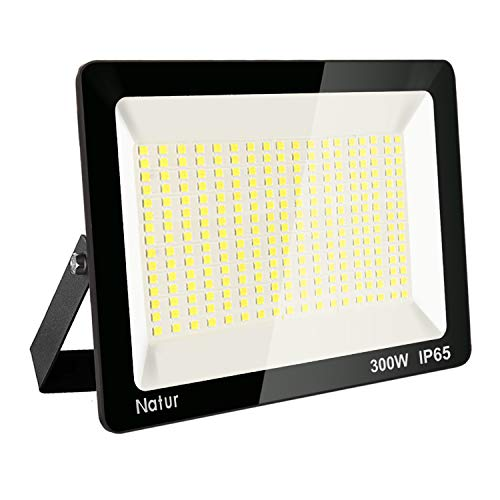 300W LED Foco exterior,Proyector Foco LED 6000K Blanco Frío Impermeable IP65 Luces...