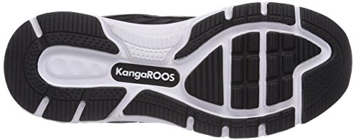Kangaroos K Tech 8007, Baskets mode mixte adulte Noir (Black 500)