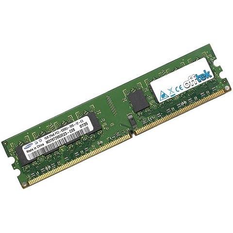 Memoria RAM de 2GB para EVGA nForce 680i LT SLI 775 T1 (122-CK-NF67-T1) (DDR2-6400 - Non-ECC)