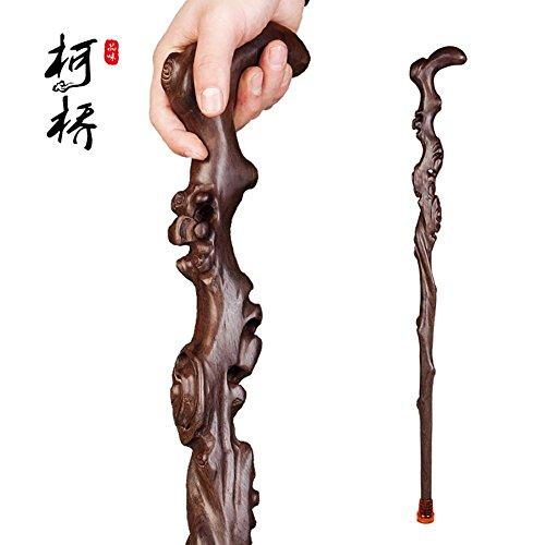 D&F Freiform Twisted Hickory Handcrafted Holzstock mit Griff Erschwingliches Geschenk für Ihre Liebsten!, A -