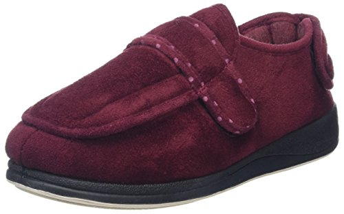 Padders -427W, Pantofole Donna Rosso (Burgundy Textile)